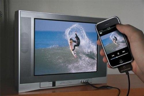 Композитный кабель для iPod, iPhone и iPad