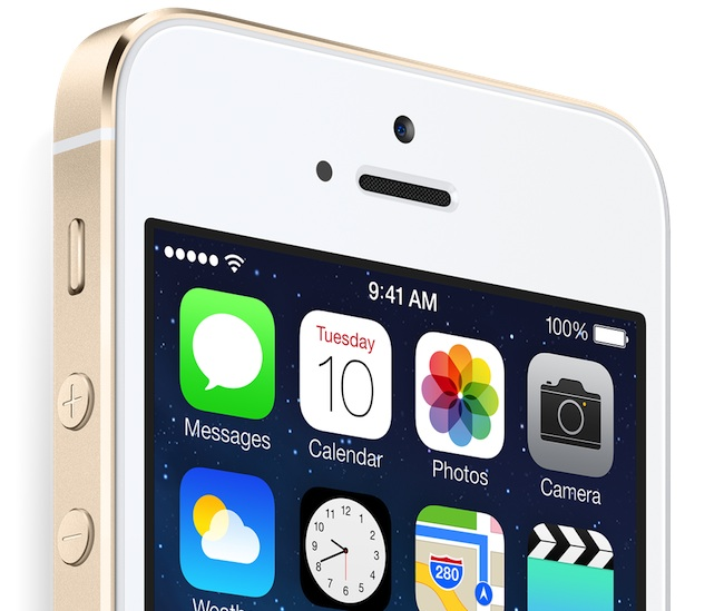 Gold-iPhone-5s-top-of-the-screen