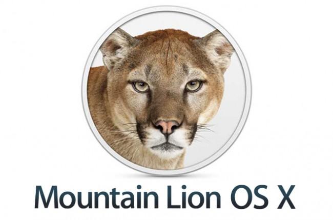 Mountain Lion OS X