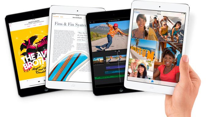 iPad mini медленнее iPad Air