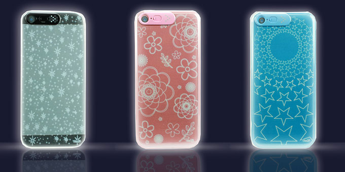 LED case IPHONE 5