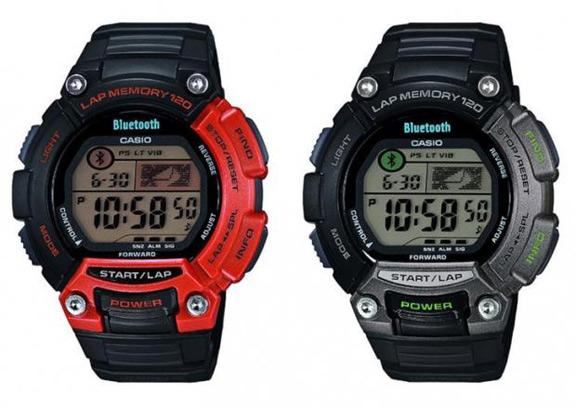 Умные спортивные часы Casio для iPhone STB-1000 casio