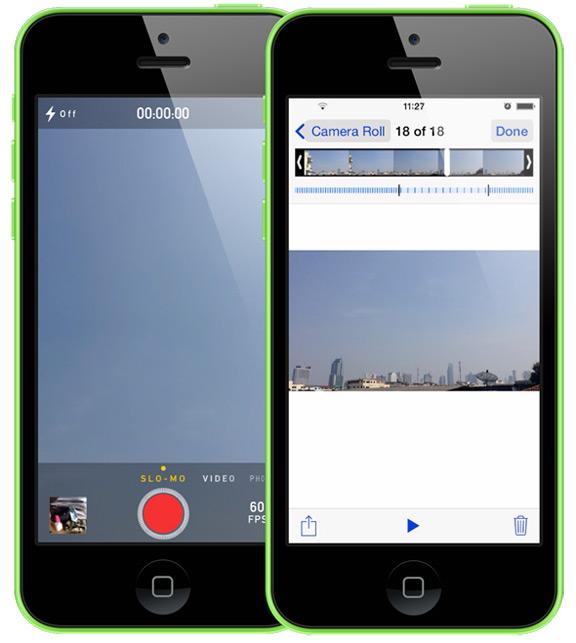 Как сделать Slow Motion видео на iPhone 5