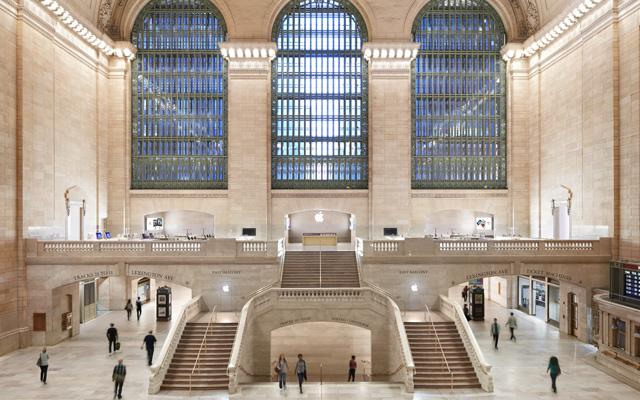 Apple Store на вокзале Grand Central в Нью-Йорке
