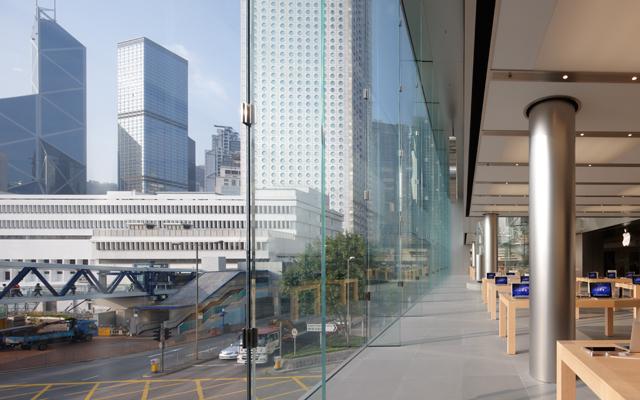 Apple Store в IFC Mall в Гонконге