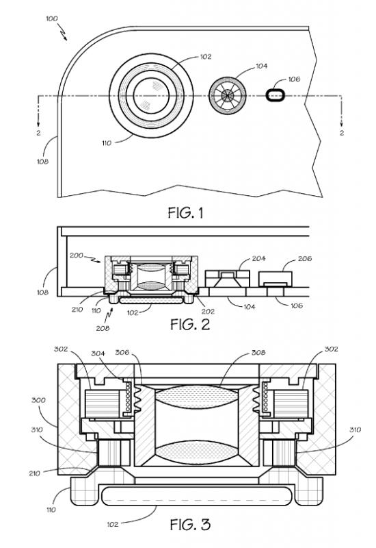 Apple патентует сменные объективы iPhone