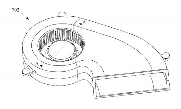Apple патентует новый тихий куллер
