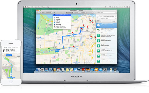 Как улучшат Apple Maps в iOS 8