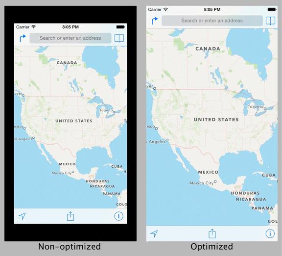 Как выглядят приложения на экране iPhone 6