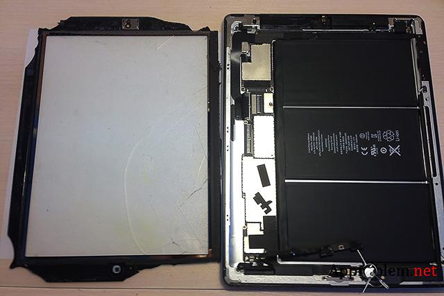 Как заменить разбитое стекло iPad 4