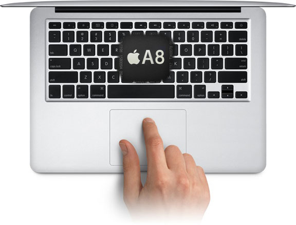 ARM процессоры Apple тестирует в MacBook