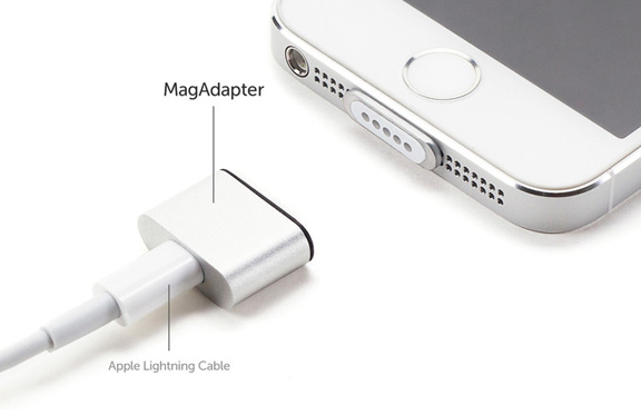 Магнитный коннектор MagAdapter – MagSafe для iPhone и iPad