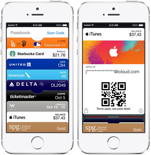 Электронные карты оплаты iTunes Pass