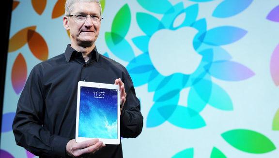 Тим Кук выполняет 80% работы на iPad