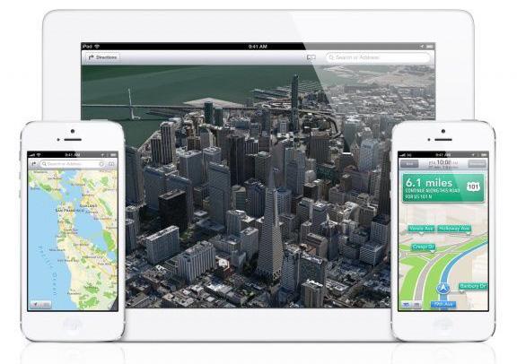 Карты Apple в Великобритании популярнее Google Maps