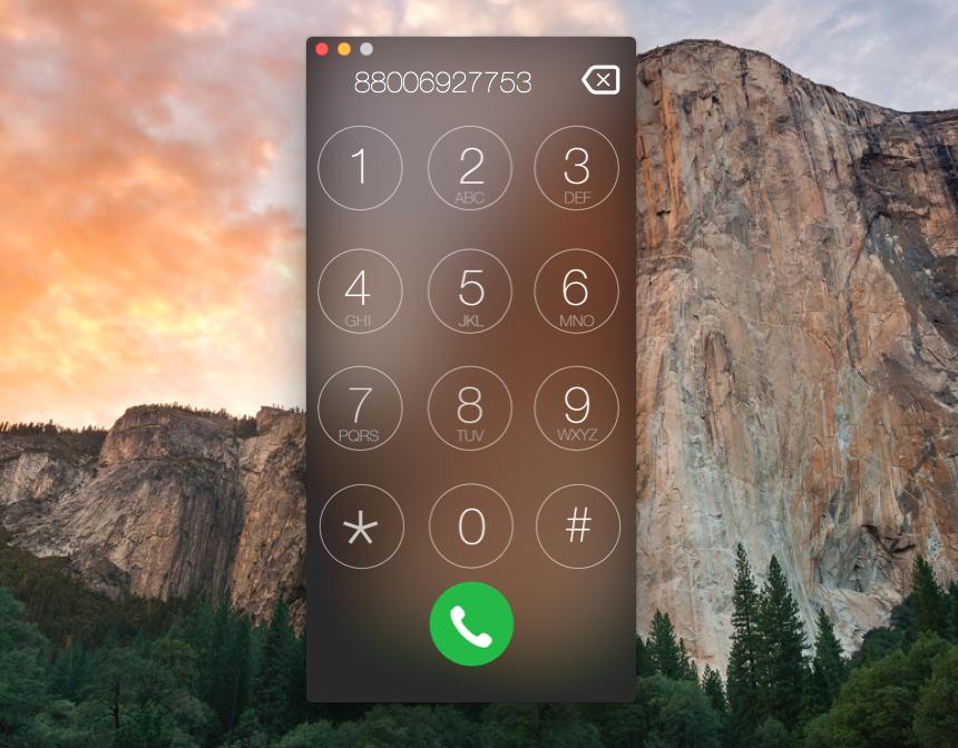 Как звонить с Macbook через iPhone