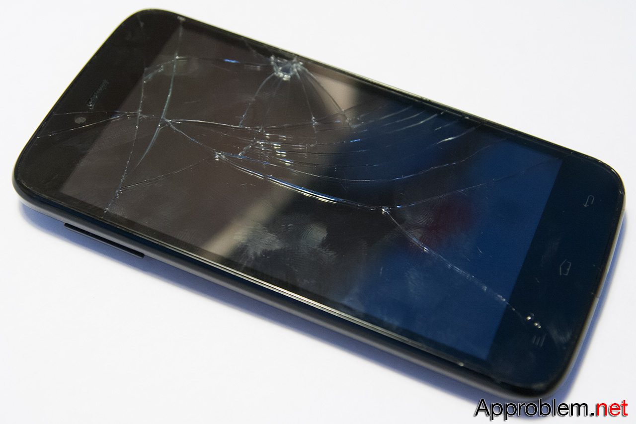 Как заменить разбитое стекло Fly iQ4411