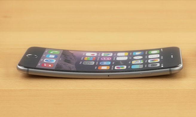 Изогнутый Apple iPhone