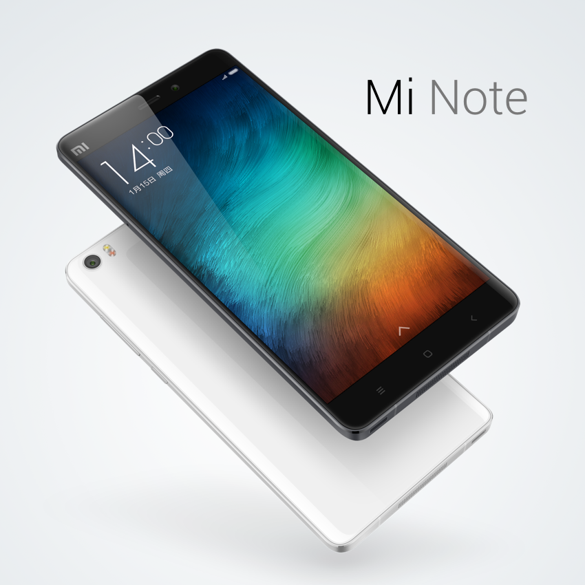 Xiaomi представил Mi Note и Mi Note Pro