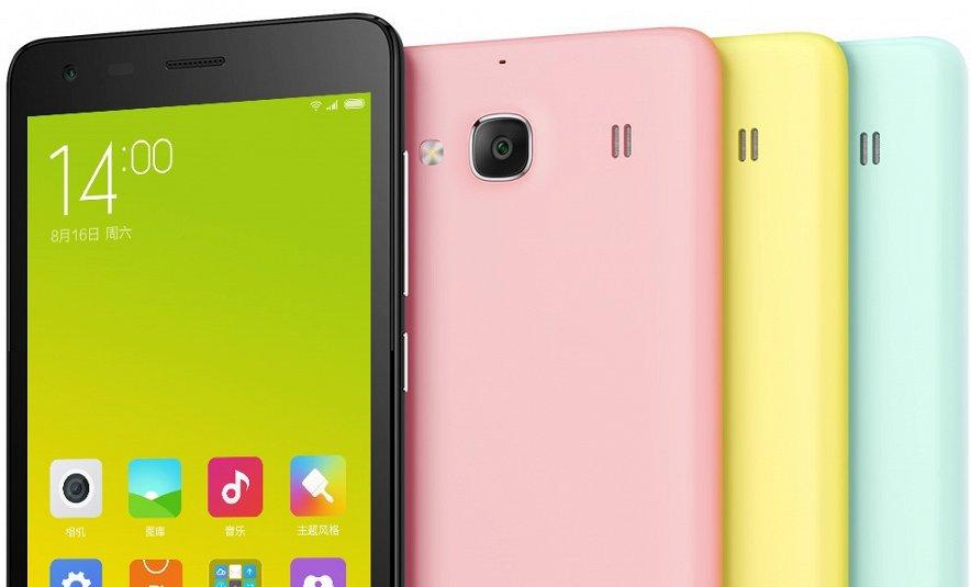Новый бюджетный Xiaomi Redmi 2