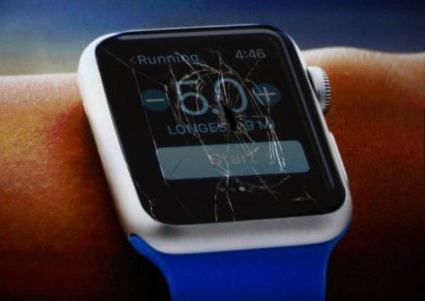 Заменить дисплей Apple Watch