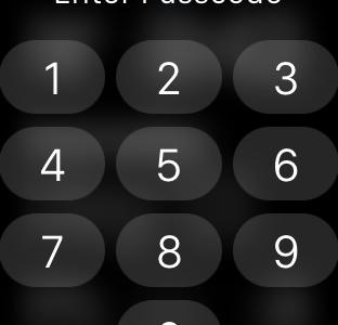 Как сбросить пароль на Apple Watch