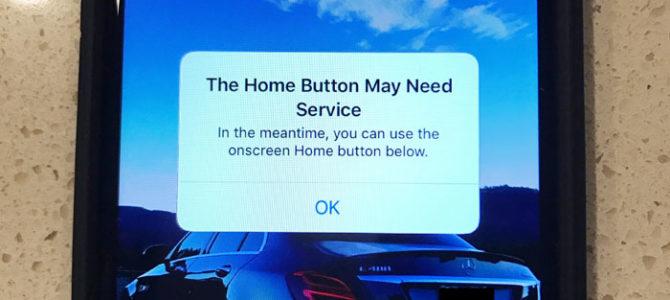 В iPhone 7 не работает кнопка Home, включился Assistive Touch